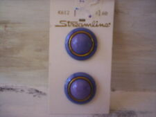 Streamline/Streamline buttons/Plastic buttons/Blue and gold button/Round buttons
