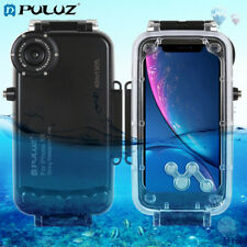 PULUZ 40m/130ft Waterproof Diving Housing Underwater Cover Case for iPhone XR