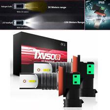 2X CSP H8 H9 H11 Car LED Headlight Conversion Bulbs 110W 30000LM 6000K Fog Light