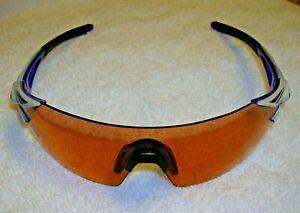 Tifosi Podium XC Shield Sunglasses Crystalized Purple Frame 143 mm & AC Red Lens