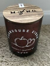 Makers of Wax Goods Extra Large Farmhouse Cider Scented Candle