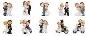 Brautpaar Mini Klein Tortenaufsatz Hochzeit Figur 5 cm Hochzeitspaar Tischdeko
