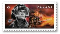 2018 CANADA 📭 EMERGENCY RESPONDERS 👨🚒 FIREFIGHTERS Single 📬 MNH