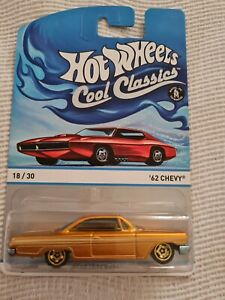Hot Wheels 62 Chevy Cool Classics Spectrafrost Orange NEW