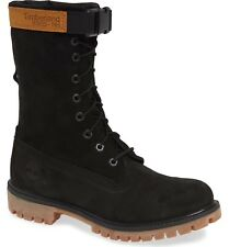 Timberland Mixed Media Premium Gaiter Boot # TB0A1Z2N Black Gum Men SZ 8 - 13