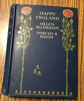 1904 Adam & Charles Black Book ''Happy England'' Illustrated Helen Allingham