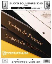Jeu France Yvert et Tellier FS 2015 - Blocs Souvenirs