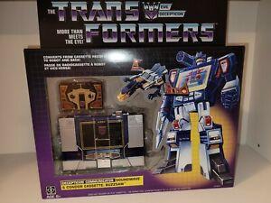 Transformers Soundwave G1 Walmart Exclusive Reissue Buzzsaw Cassette Sealed NEW