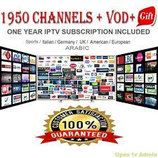 Arabic IPTV 2017 Service HDTV WiFI 1 Year Bein Sport MBC OSN Art + GIFT
