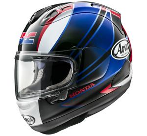 NEU ARAI Helm RX-7V Honda CBR blue Gr. L = 59/60 blau schwarz rot statt 1049,95€