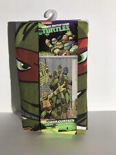 Teenage Mutant Ninja Turtles Nickelodeon Fabric Shower Curtain 72X72 Child Bath