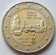 2 Euro Commémorative Malte 2020 - Temple Skorba UNC NEUVE sous capsule
