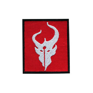 Demon Hunters Airsoft Cosplay Embroidered Sew-on/ Iron-on / Hook & Loop Patch 3