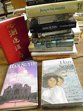 Lot de 13 livres de Han Suyin La cité des sortilège Le soleil en embuscade  ....