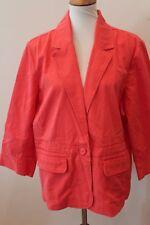 Women's Salmon Colored Beaded OLD NAVY Blazer Sz XXL NWT $40 L#806