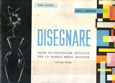 MU26 Disegnare Guida all'educazione artistica Vol. I Ulisse Longobardo