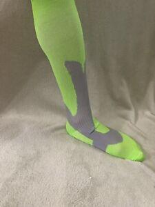 Men's DCF Knee Length Socks Lime Green