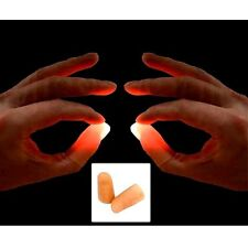 Pair Of Red Light Up Thumbs x2 Medium Lights From Any Where HD tutorial included