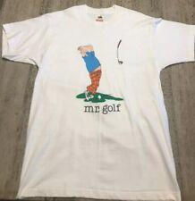 New listing Deadstock Vintage 1980s Mr. Golf Single Stitch T Shirt New Xl