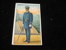 Recruit Little Cigars Midshipman U.S. Navy Fold-Out Tobacco Card Early 1900's