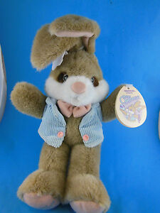 """Peter Cottontail Plush Bunny Rabbit approx 12"""" Applause Mint With Tag"""