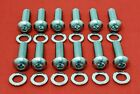 Sbc Chevy Intake Manifold Bolts Kit Stainless 283 305 327 350 400 Tpi Buttonhead