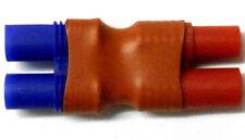 C0035A connettore RC femmina EC3 to 2 Maschio 3.5mm Rosso Contenitore