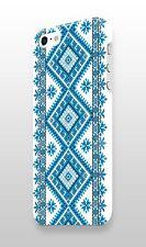 Unique Iphone 4s 5 5s 5c 6 6S 7 + Plus Cover Case Ukraine Ornament Blue Vintage