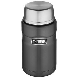 Thermos Stainless King Food Flask Space Grey 710ml