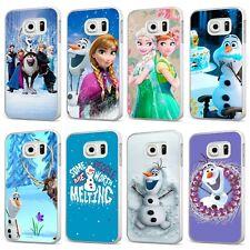 Frozen Disney Elsa Olaf Magical Queen WHITE PHONE CASE COVER for SAMSUNG GALAXY