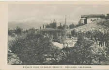 B9239  1910 POSTCARD REDLANDS CA SMILEY HEIGHTS PRIVATE HOME