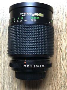 Vivitar (Komine) 90mm f2.8 Macro Prime Lens M42 Fit - Full 1:1 Reproduction