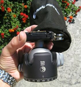 Really Right Stuff BH-55 Tripod Ball Head With Case