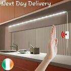 USB LED Strip Lights White/Warm White with adhesive Hand Motion Sensor 2m/4m/5m