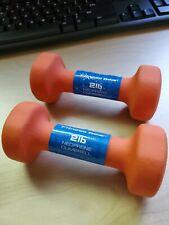 Fitness Gear 2lb Dumbells orange.