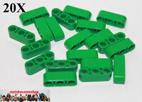 20X Lego® 32523 Technik dicke Liftarme Beams 1X3 Grün Green NEU
