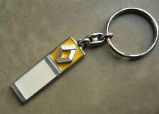 Ancien porte clé métal laque émail Automobile RENAULT Garage Nancy Années 70/80