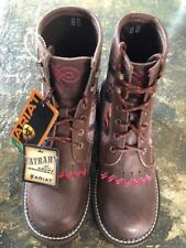ARIAT FAT BABY BROWN CAMO BOOTS SIZE 8 NWT!