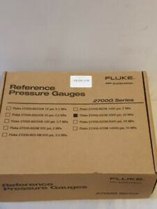 Fluke Calibration 2700G-G20M Reference Pressure Gauge, 0 to 3000 psi (0 to 20 MP