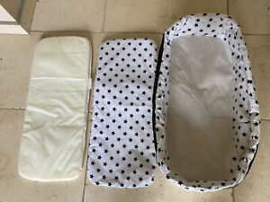 Cosatto Giggle carrycot liner & mattress Cover - All ⭐️ Stars