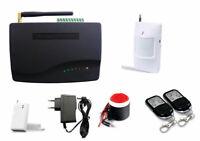 Kit antifurto senza fili con combinatore GSM 433MHz