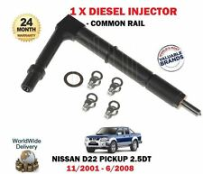PER NISSAN PICK-UP D22 2.5TD 2001- > nuovo common rail iniettori diesel