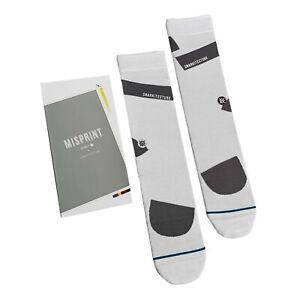 Stance x Snarkitecture Socks 'Snark Distorted Box' | L | Crew | New With Tags