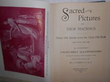 Classical/ Renaissance ART Sacred Pictures.. Teachings 1899 400+ woodcuts Illus.