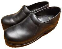 Barely Worn Dansko Sport Leather Slip Resistant Clogs Size 10.5 11 US 41 EUR EUC