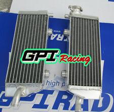 aluminum alloy radiator KTM 250/450/505 SX-F/SXF 2007 2008 2009 2010 2011 2012