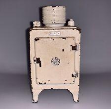 Wonderful old original cast iron large G.E. Refrigerator still bank 1930 - 1936