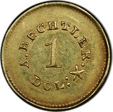 A BECHTLER G$1 27 GRAINS 21 CARAT PCGS AU55