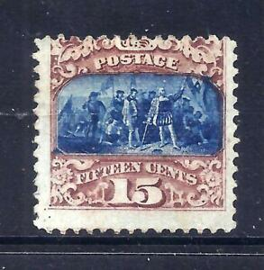 US Stamps - #119 - MNG - 15 cent type II  1869 Pictorial Issue - CV  $975
