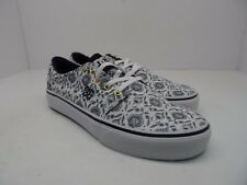 DC Women's Trase Canvas Casual Skate Shoe Paisley Size 9.5M